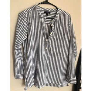 J Crew Striped Top